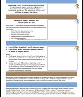 Learning Targets and Success Criteria, Page 2