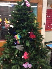 Giving Tree receives some decorations!