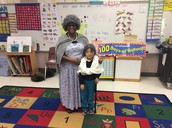 Ms. Riley and student
