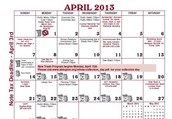 April 8, 2013 at 7:00 p.m.