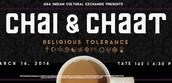 "ICE Chai & Chaat: ""Religious Tolerance"""