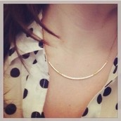 Crescent Necklace $20