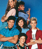 Saved By The Bell was a popular show and that is what teenagers wore to school in the early 80's.