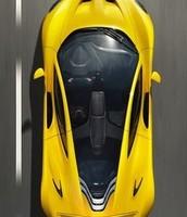 On top a Ferrari