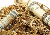 WE BUY GOLD. SILVER. DIAMONDS. SCRAP GOLD WATCHES ANYTHING OF VALUE.