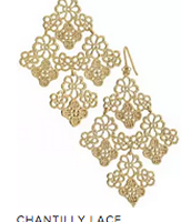 Chantilly Lace Chandelier > $25 (NEW)