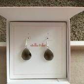 Amity Drop Earrings- Smoky $15