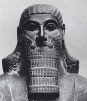 King Ashurbanipal of the Assyrians