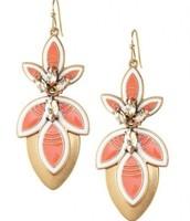 Hibiscus Earrings, Reg $44, Now $22