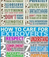 How to care for Introverts and Extroverts