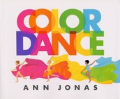 Color Dance inspired us to dance around with colored scarves :)