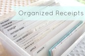 Organized Receipts