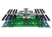 International Space Station vs Football Field