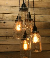DIY Vitage Light Fixtures
