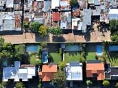Lower income vs higher income neighborhood