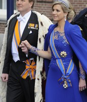 Queen Maxima and her husband