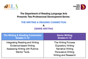 The RLA Dept.'s upcoming trainings!