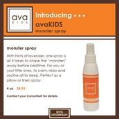 avaKids monster spray