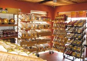 Our shop has the most heartwarming bakery in town!