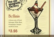 Bellinis $3.95 Special For Dinner