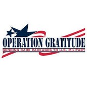Student Support of Operation Gratitude