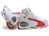 This is the awesome Ferrari White Shoes.