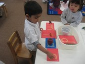 Learning Letter Sounds with Sandpaper Letters