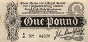 One Pound 1914