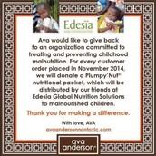 Plumpy'nut Donation