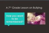 7th Grade Classroom Lesson On Bullying