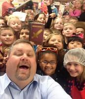 Selfie with 1st Grade