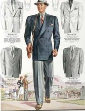 History of Men's Fashion in the 30s