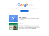 A Google A Day Challenge