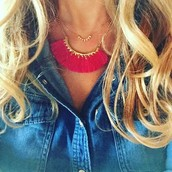 Eden Fringe Necklace