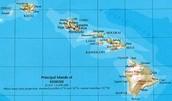 Hawaii's map