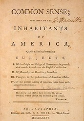 Common Sense and the American Revolutionary War