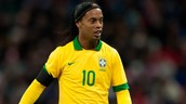 Ronaldinho played at the World Cup in Brazil