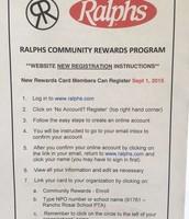 Ralphs Community Rewards Program