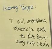 CMS Examples of Learning Targets