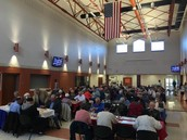 Great turnout for breakfast! Thank you Otsego Community