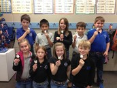 2nd Graders Make Edible Dreidles