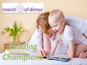 March of Dimes Reading Champions