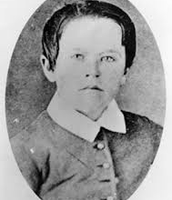 Thomas Edison as a child