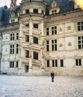 Les Escaliers de François 1er du Château de Blois