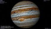 Jupiter orbiting