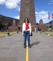 At Mitad del Mundo! (Middle of the World!)