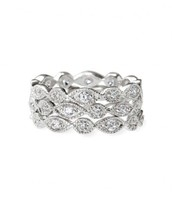 Stackable Deco Rings - Set of 3 $31.24