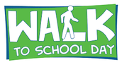 Walk to School Day is Wednesday, October 5th!