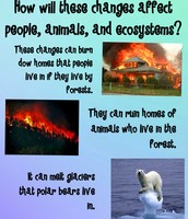 How will these changes affect people, animals, and ecosystems?