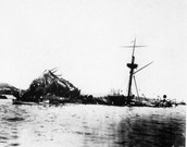 The USS Maine aftermath.